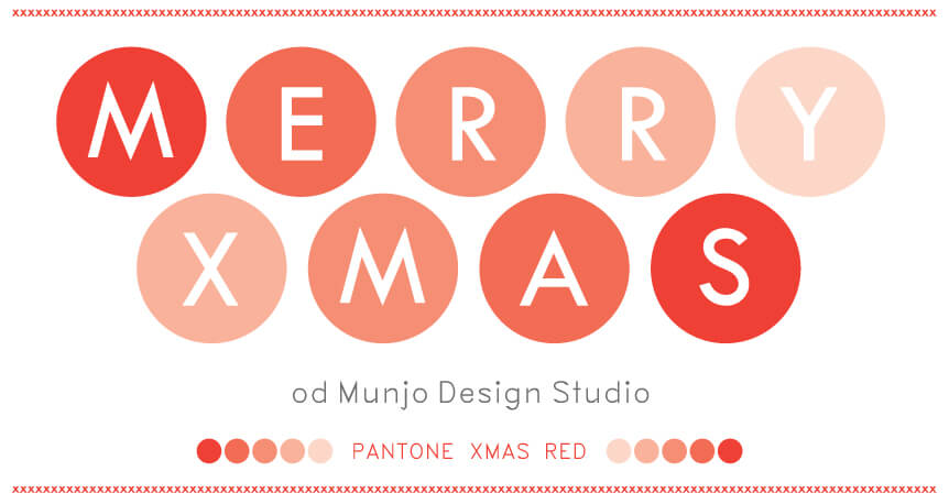 karta świąteczna munjo design