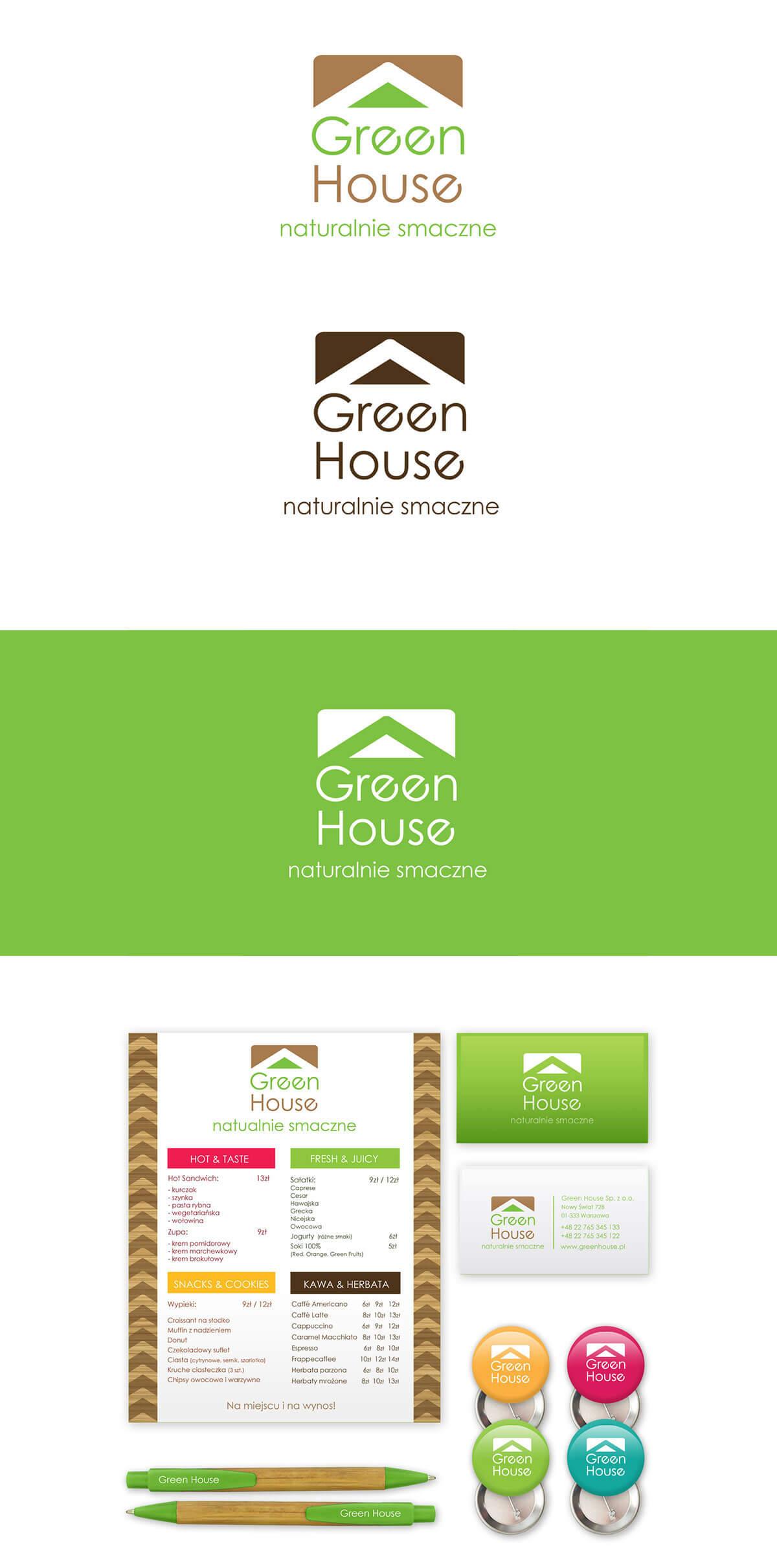 projekt logo dla sieci kawiarnii