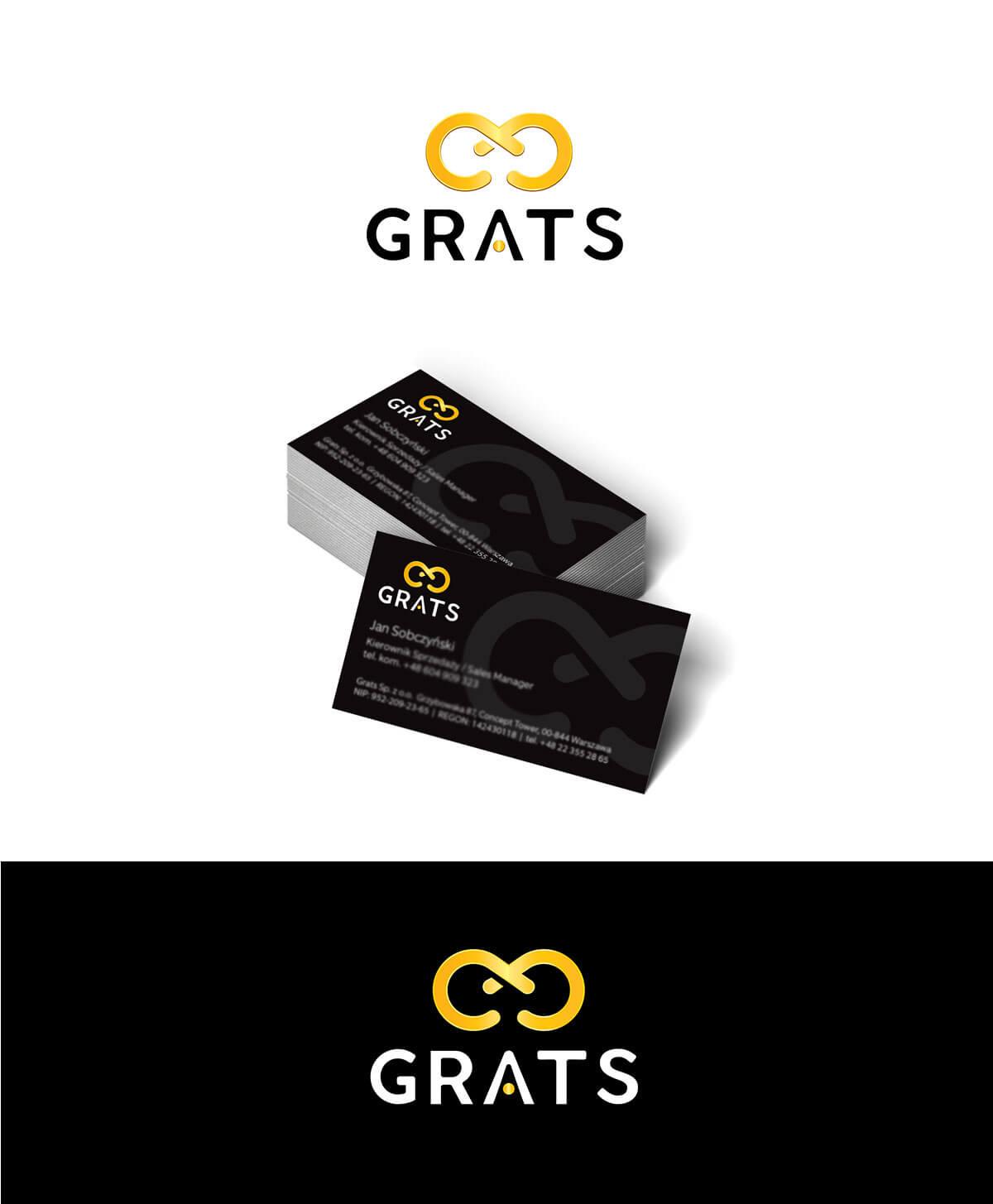projekt logo dla firmy grats