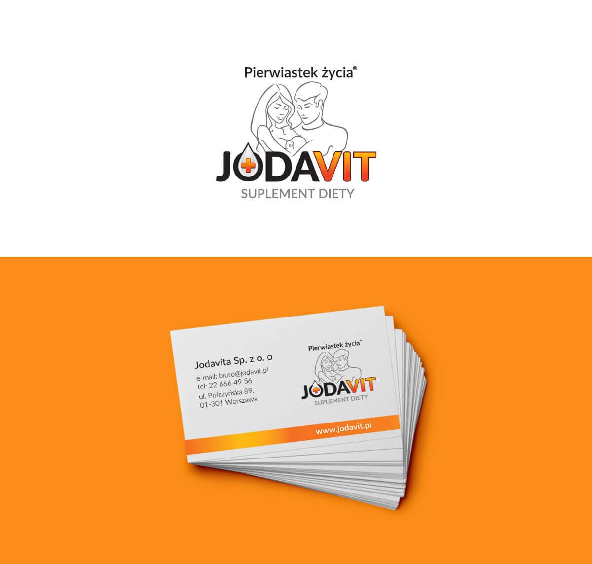 projekt logo suplementu diety