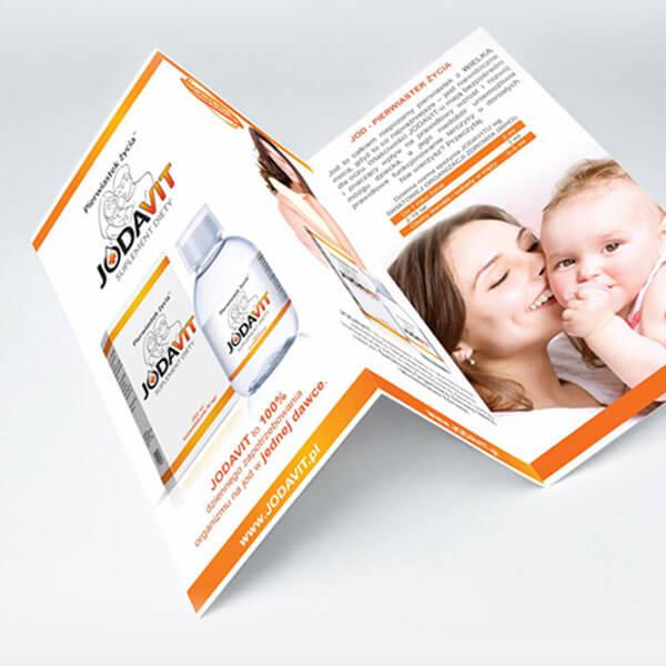 materiały promocyjne dla marki Jodavit