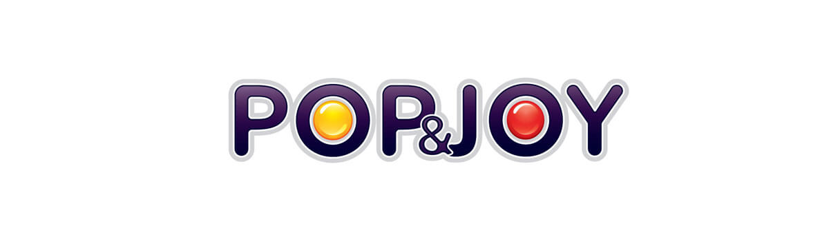 projekt logotypu pop joy