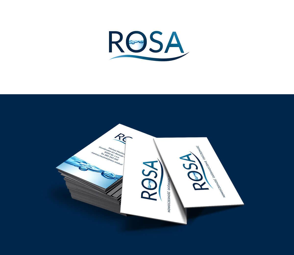projektowanie logo Rosa
