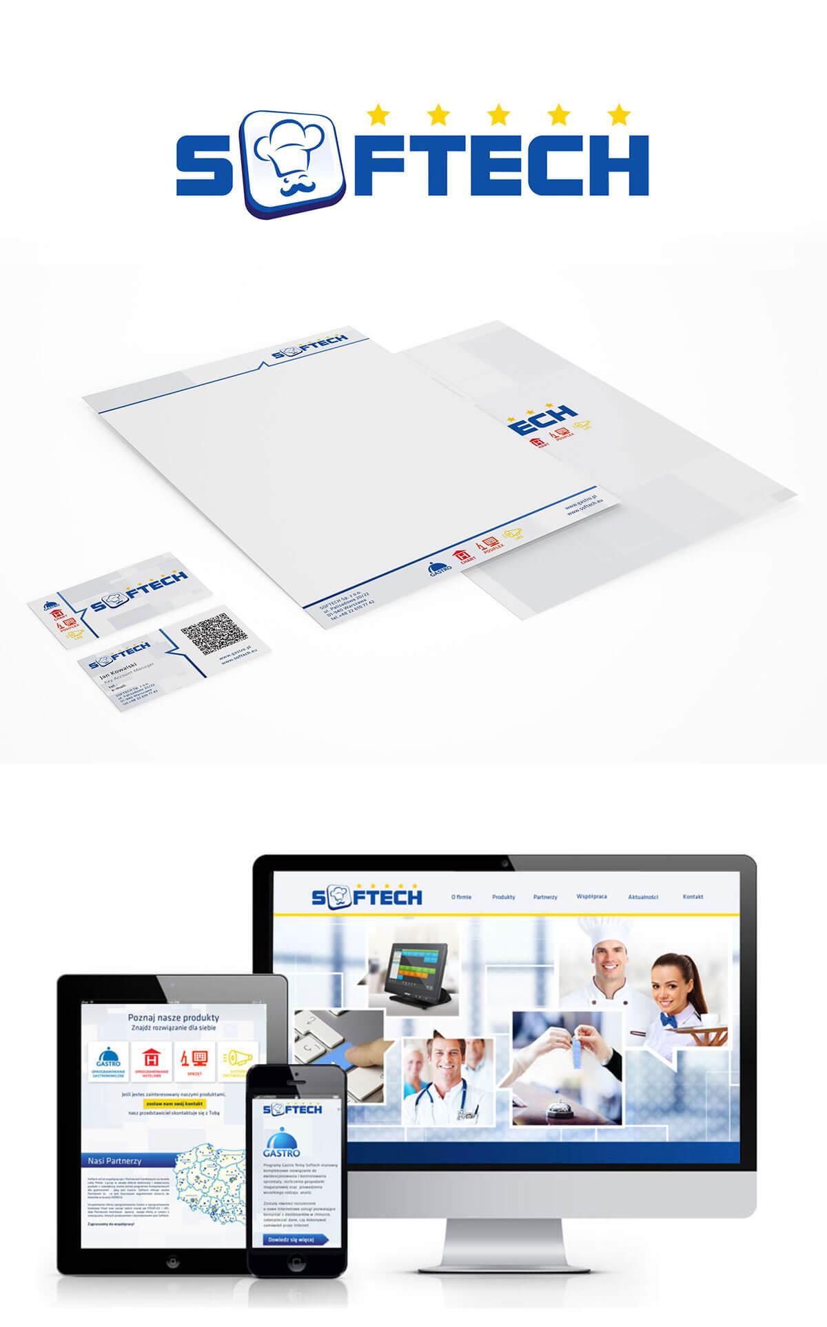 softech identyfikacja wizualna firmy