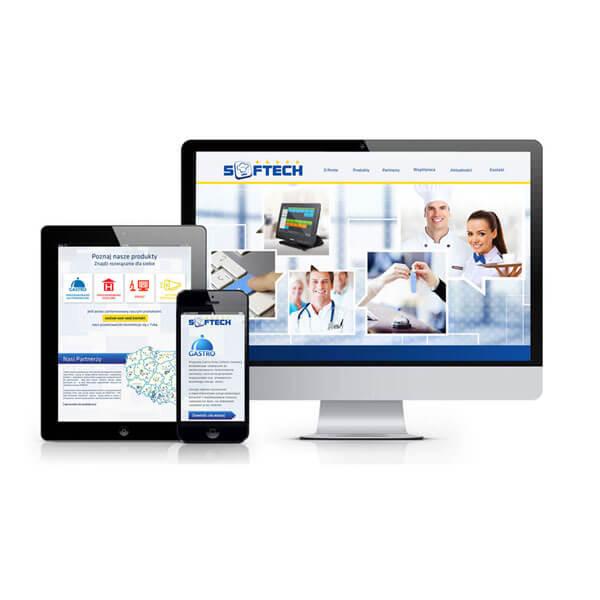 strona internetowa softech