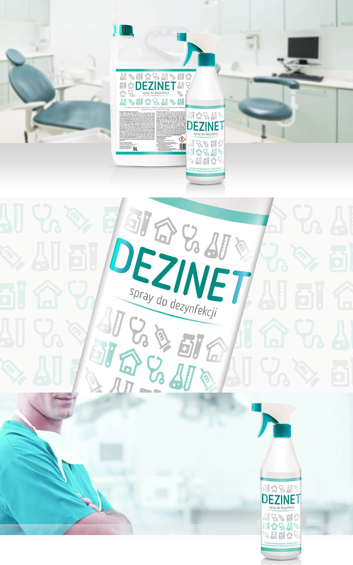 projekt etykiety na środki chemiczne