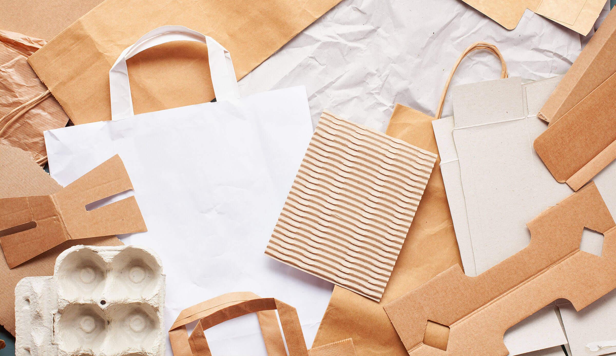 projektowanie z papieru do recyclingu
