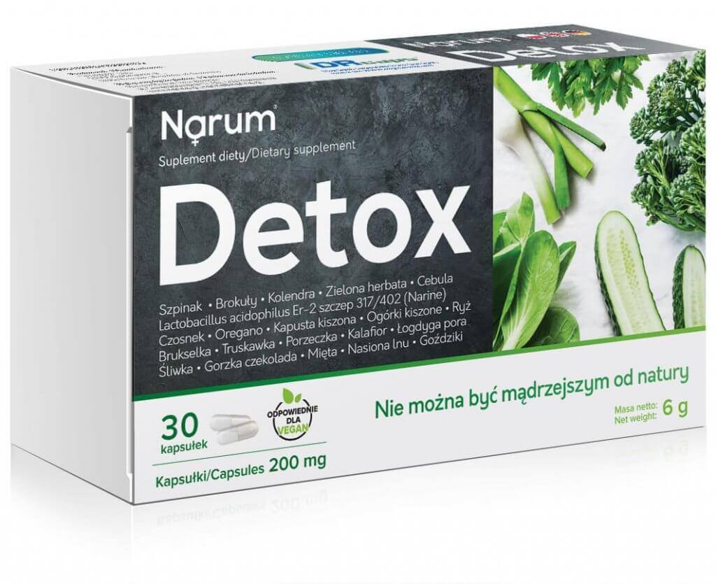 Detox projektowanie suplementów