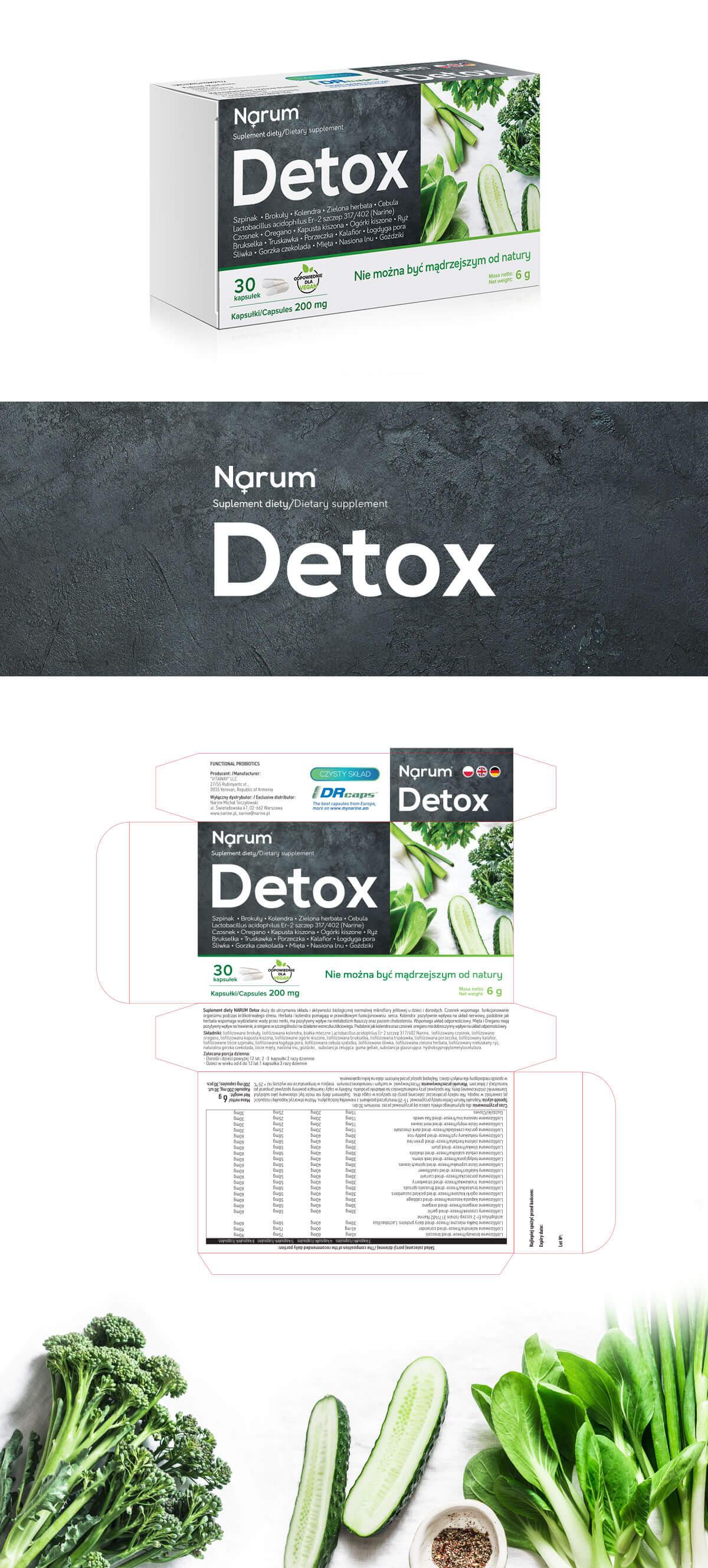 opakowanie suplementu diety Detox
